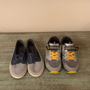 Stride Rite & Cat And Jack Boy Shoes Size 9 Bundle